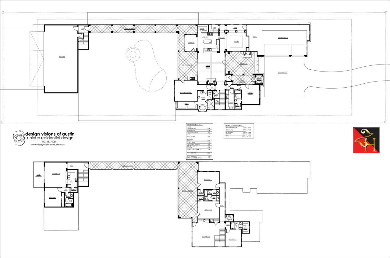 Example of Proposed Home Plan #1 - Floor Plan