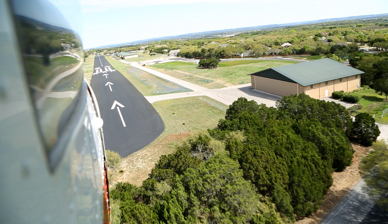 Landing at the Lakeway Airpark